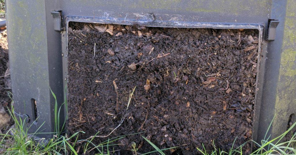 compost en février - mars