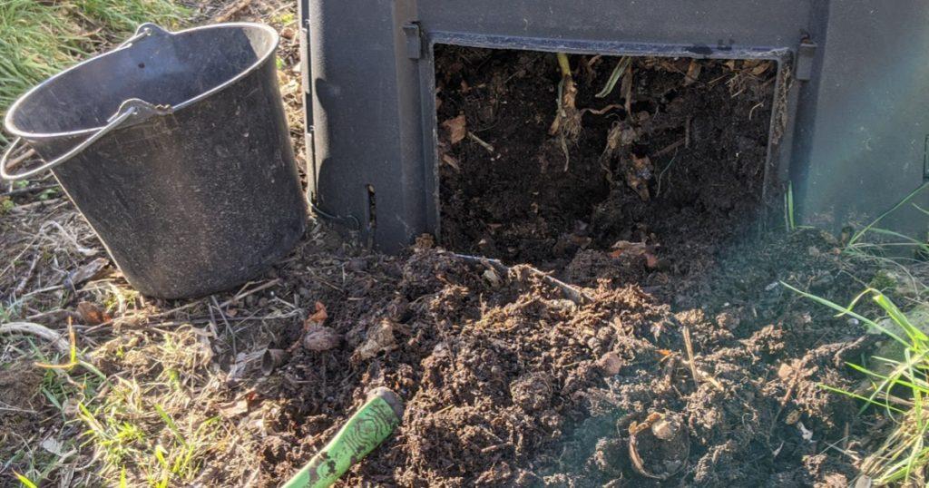 récupération du compost